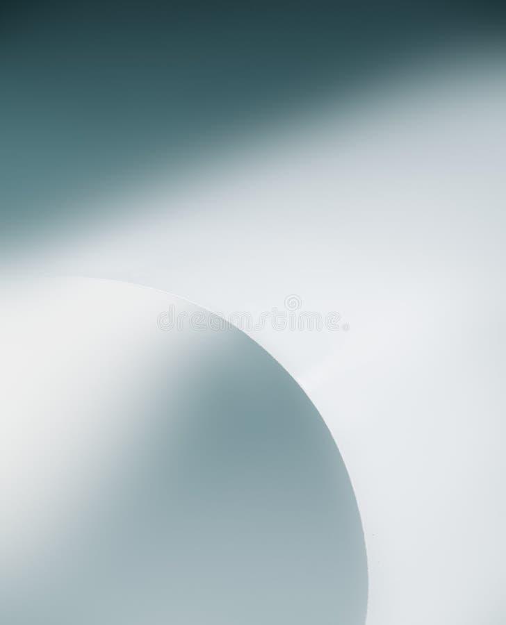 Schwarzer weißer Makrogebogenes Blatt des hintergrundes Kreis lizenzfreie stockbilder