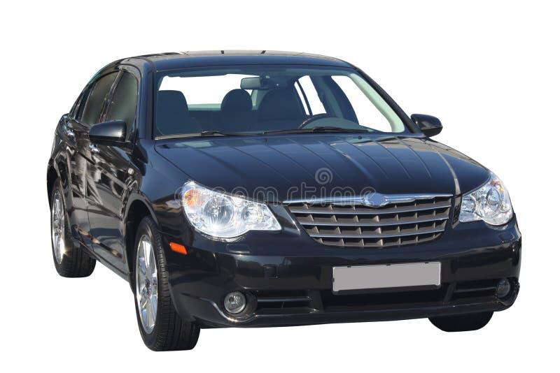 Schwarzes Auto stockfotos