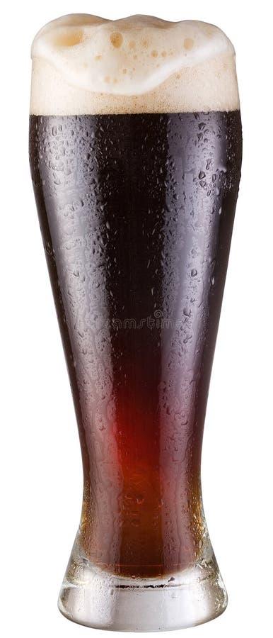 Schwarzes Bier stockfoto