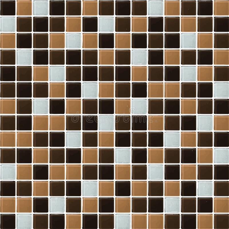 Schwarzes, Brown, nackt das wirkliche Foto der Fliesenwand-hohen Aufl?sung oder der Ziegelstein nahtlos und der Beschaffenheitsin lizenzfreie abbildung
