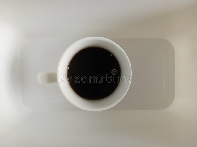 Schwarzes coffe stockbilder