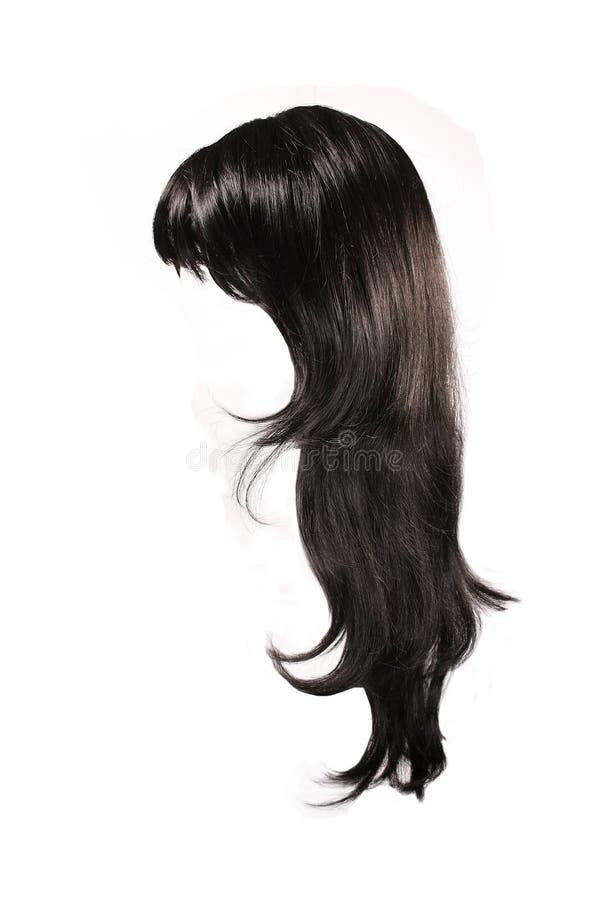 Schwarzes Haar stockbild