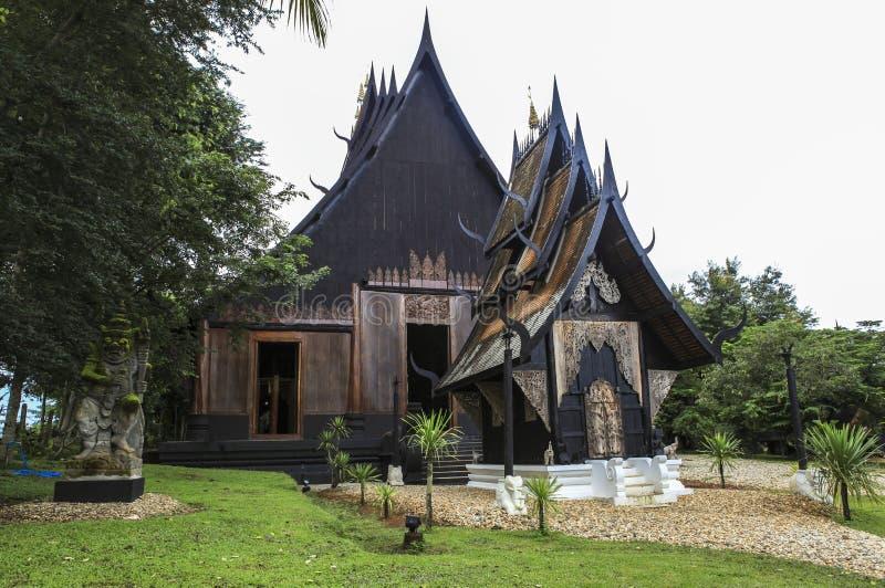 Schwarzes Haus schwarzes haus in chiangrai stockfoto bild erbe