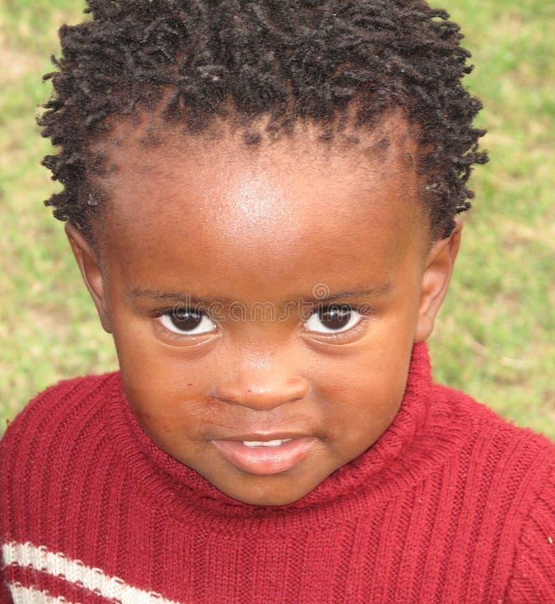 Schwarzes Kind lizenzfreies stockfoto