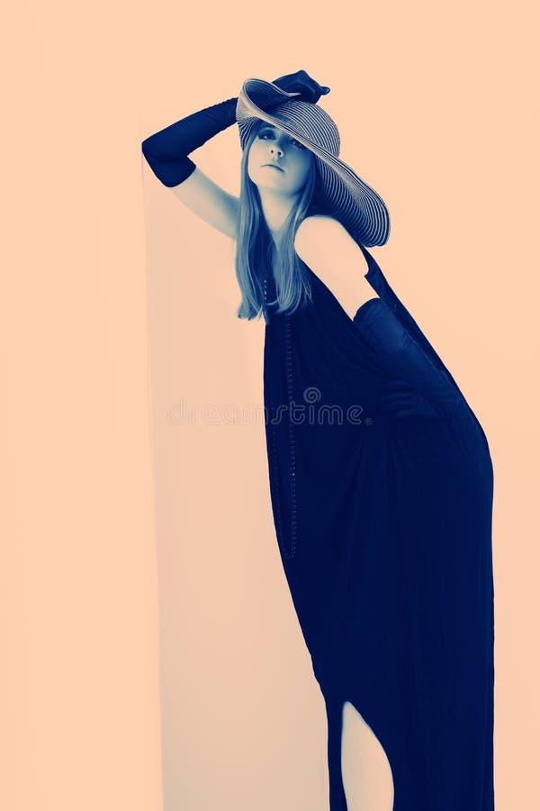 Schwarzes Kleid stockbilder