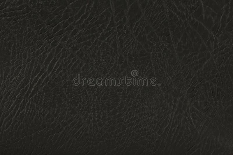 Download Schwarzes Leder stockbild. Bild von dunkel, oberfläche - 4373337