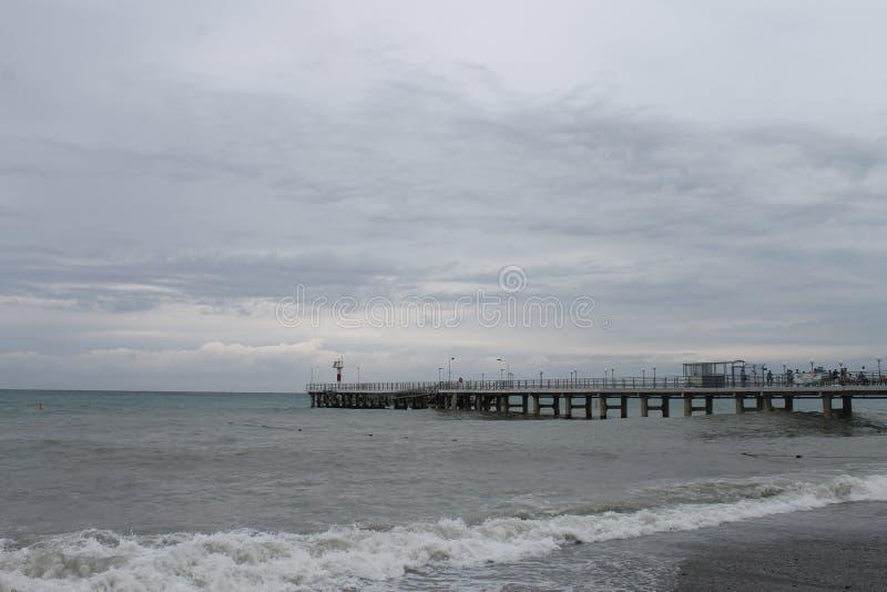Schwarzes Meer stockbild