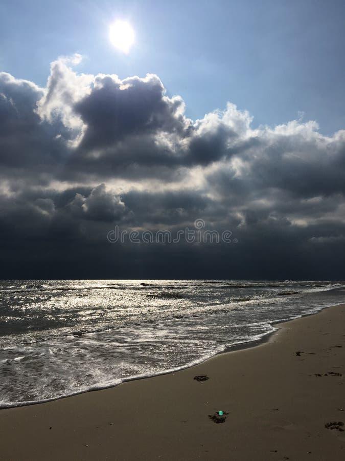Schwarzes Meer lizenzfreie stockbilder