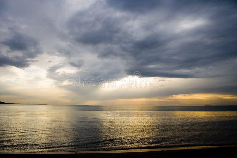 Schwarzes Meer lizenzfreies stockbild
