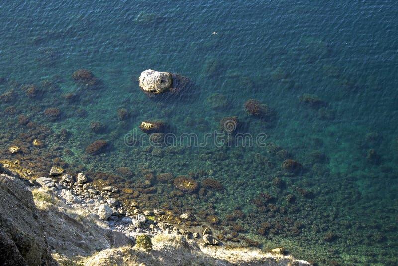Schwarzes Meer in Krim lizenzfreies stockfoto