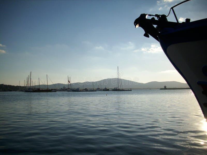 Schwarzes Meer, Sozopol, Bulgarien lizenzfreie stockbilder