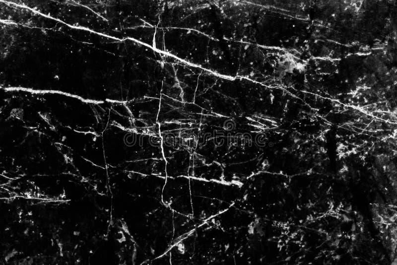 Schwarzes natürliches Marmorierungmuster für Hintergrund, abstrakt mit Hoch lizenzfreie stockfotografie