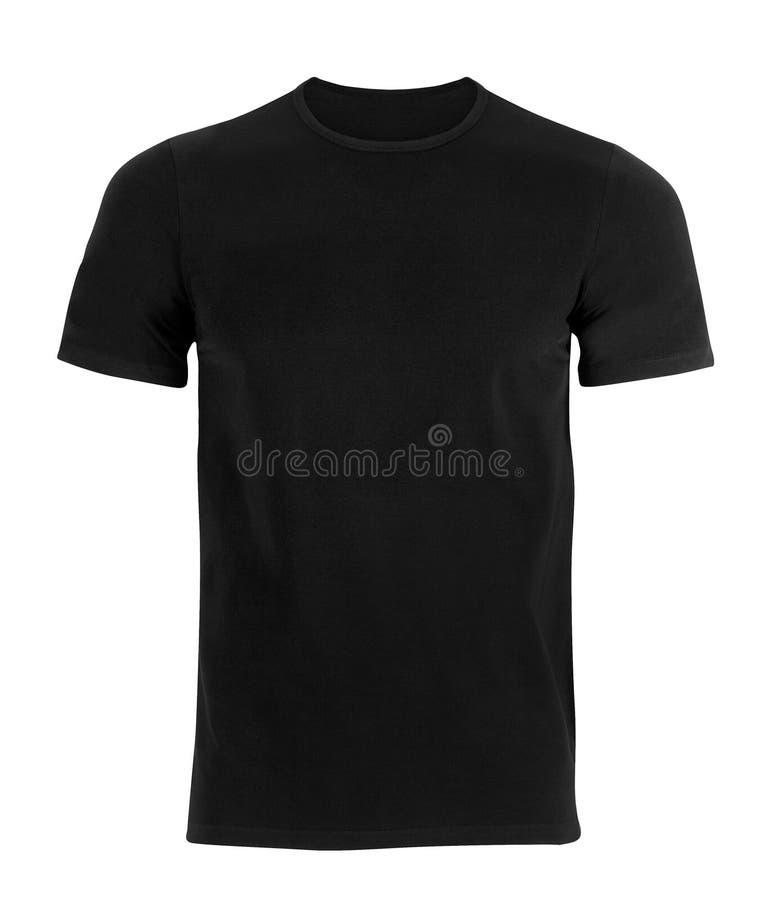 Schwarzes T-Shirt lizenzfreies stockfoto