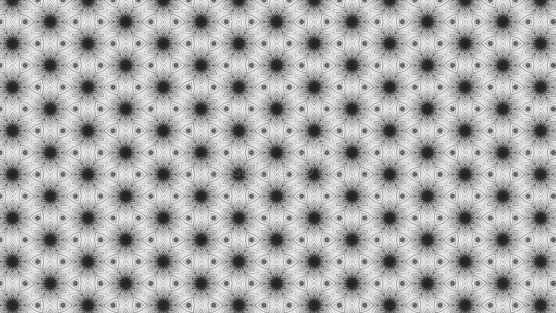 Schwarzes und Gray Vintage Floral Ornament Wallpaper kopieren grafische schöne elegante Illustration vektor abbildung
