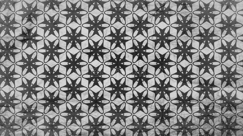 Schwarzes und Grey Geometric Pattern Background Image vektor abbildung