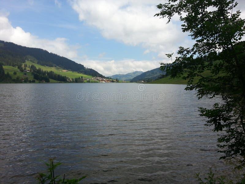 Schwarzsee stock afbeelding