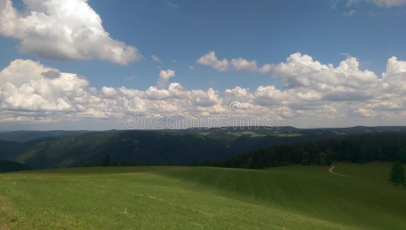 Schwarzwald/Blackforest stock fotografie