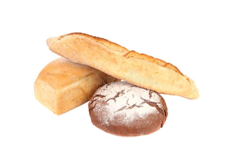 Schwarzweiss-Brot. stockfotos