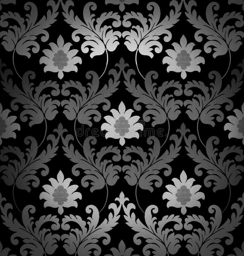 Schwarzweiss-Hintergrund stock abbildung