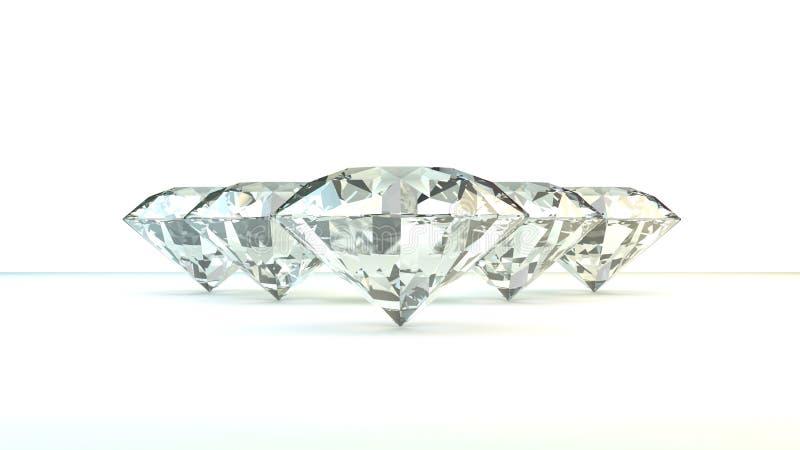 Schwarzweiss-Hintergrund von glittery Diamanten stockbild