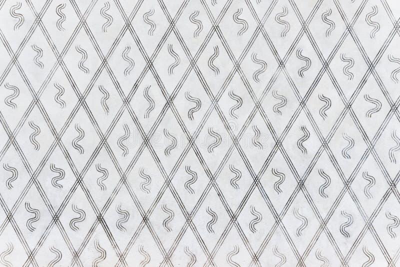 Schwarzweiss-Linie Hintergrund stockbilder