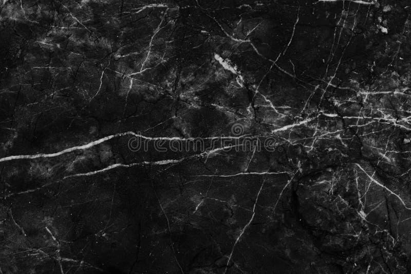 Schwarzweiss-Marmorhintergrund- und Beschaffenheitsmuster mit hoher Auflösung stockbilder