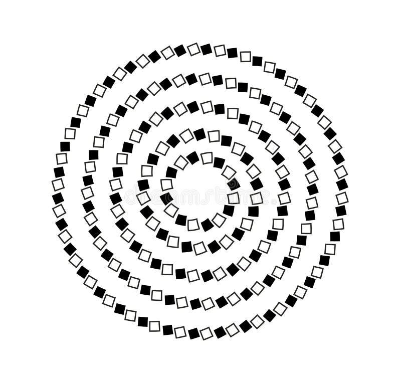 Schwarzweiss-optisches lizenzfreie abbildung