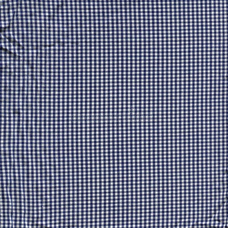 Schwarzweiss-Plaidgewebebeschaffenheit stockfotografie