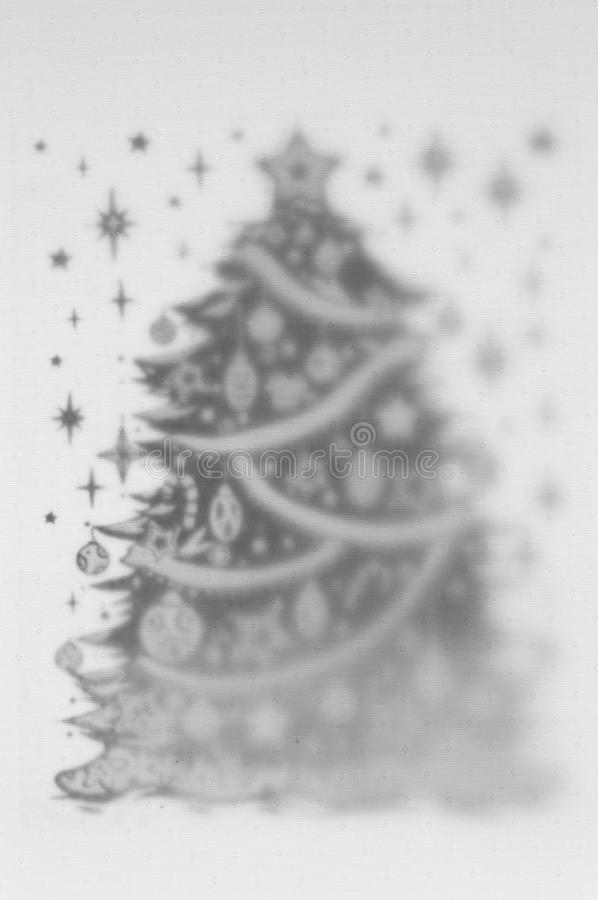 Schwarzweiss-2 Schichten Hintergrund mit guten Rutsch ins Neue Jahr-Motiv wi stockfoto