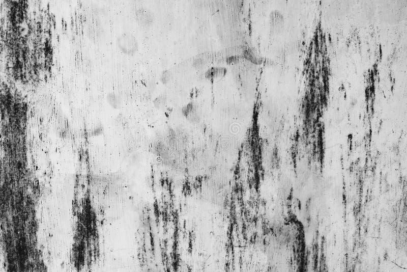 Schwarzweiss-Staub und verkratzte strukturierte Hintergründe mit Badekurort stockfotografie