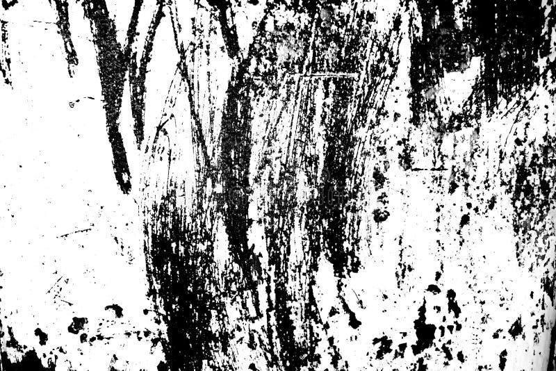 Schwarzweiss-Staub und verkratzte strukturierte Hintergründe mit Badekurort stockfoto