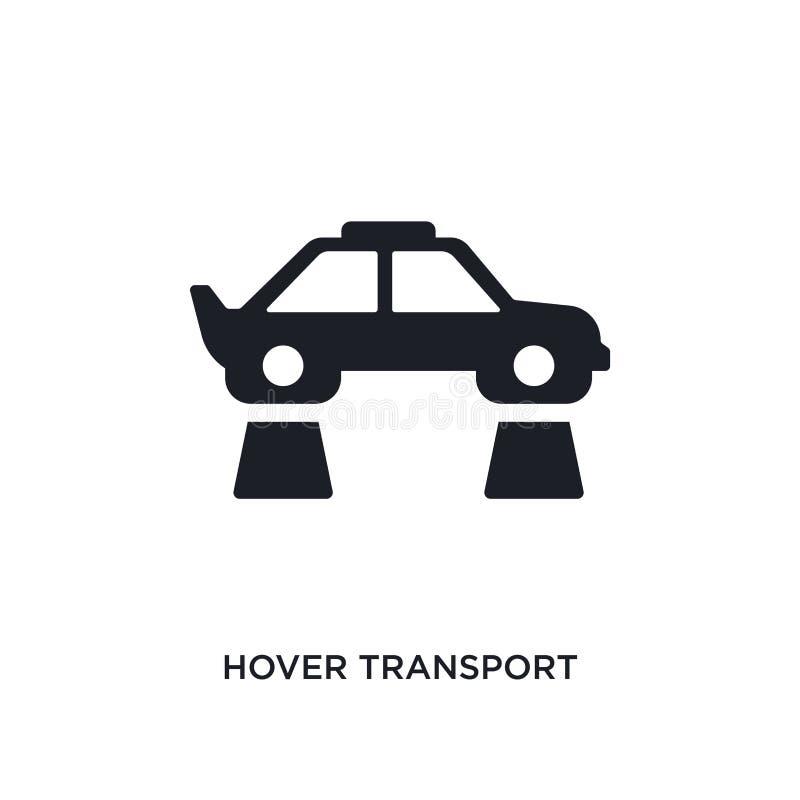 schweben Transport lokalisierte Ikone einfache Elementillustration von den künstlichen intellegence Konzeptikonen schweben der ed vektor abbildung