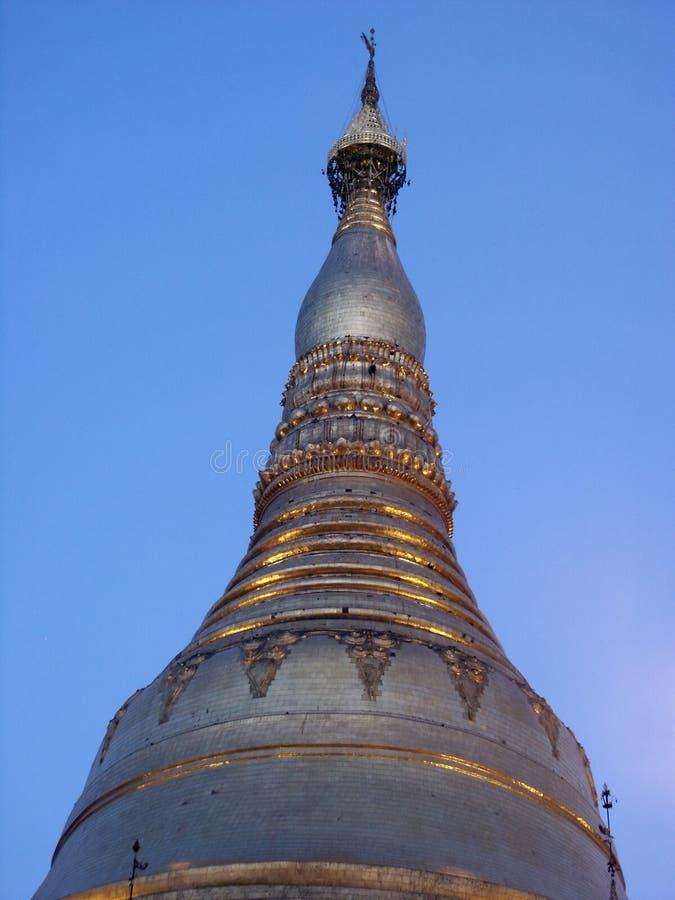 schwedagon pagoda стоковое фото rf