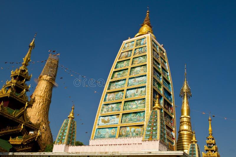 Schwedagon Paya стоковое изображение rf
