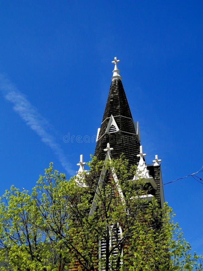 Schwedische lutherische Kapelle Augustana lizenzfreies stockbild