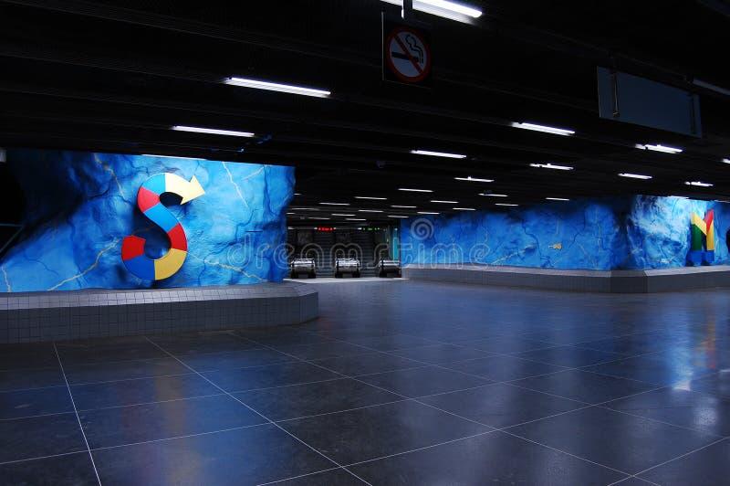 Schwedische Metro stockfoto