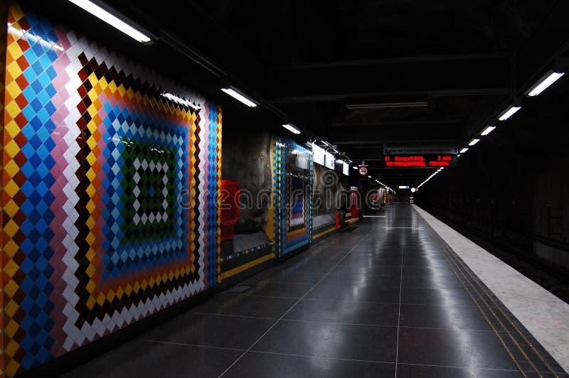 Schwedische Metro lizenzfreie stockfotos