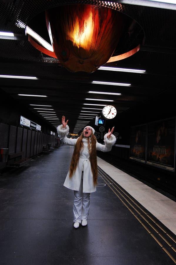Schwedische Metro stockfotografie