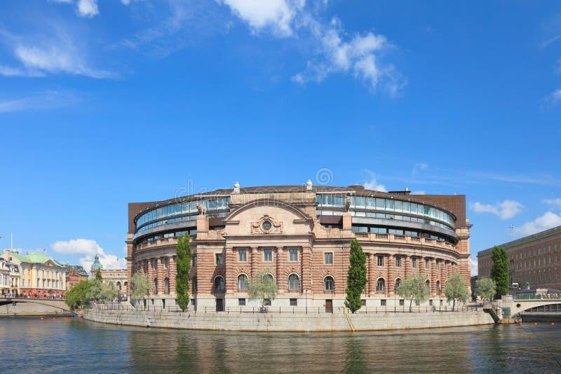 Schwedisches Parlament. stockfoto