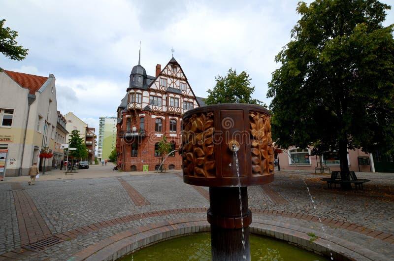 Schwedt en la Alemania Oriental fotos de archivo libres de regalías