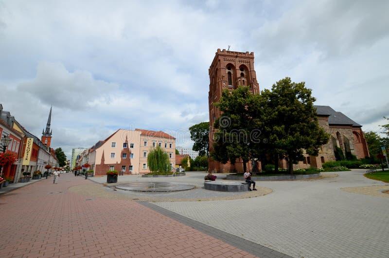 Schwedt en la Alemania Oriental fotos de archivo