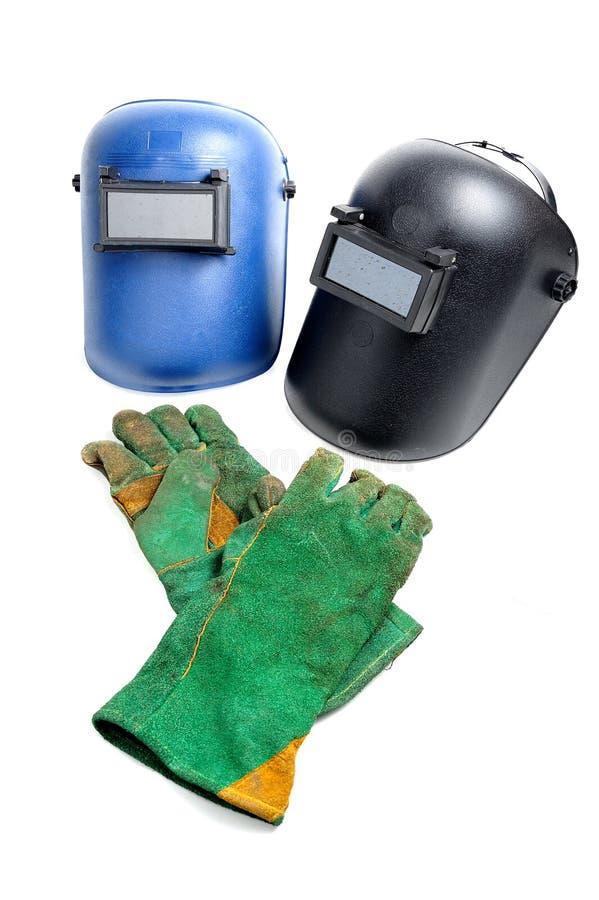 Schweißensausrüstung lizenzfreie stockfotos