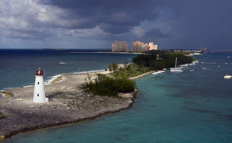 Schwein-Insel-Leuchtturm lizenzfreies stockfoto