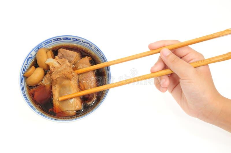 Schweinefleisch-Rippe-Suppe lizenzfreies stockfoto