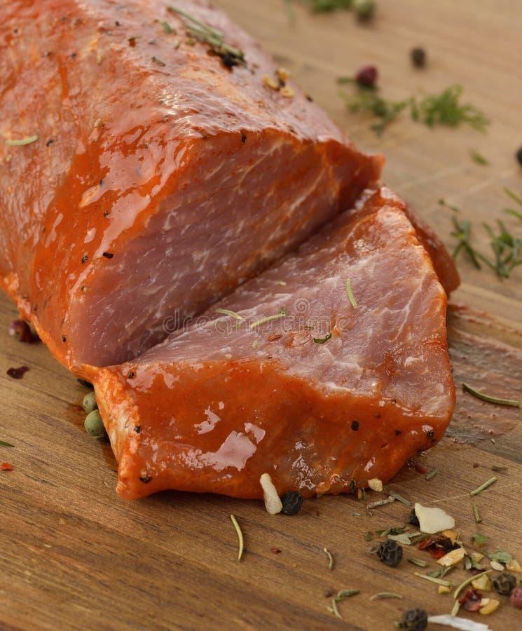 Schweinefleisch-Verkleidung lizenzfreie stockfotografie