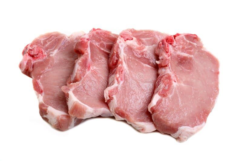 Schweinekoteletts lizenzfreie stockfotos