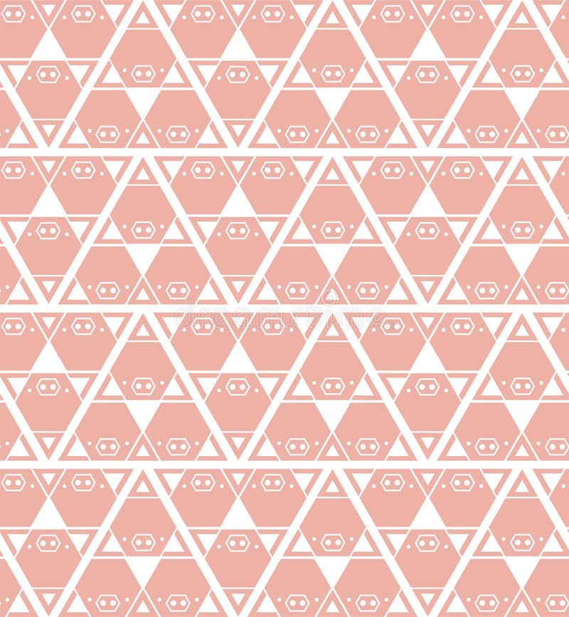 Schweinhintergrund-Musterrosa vektor abbildung