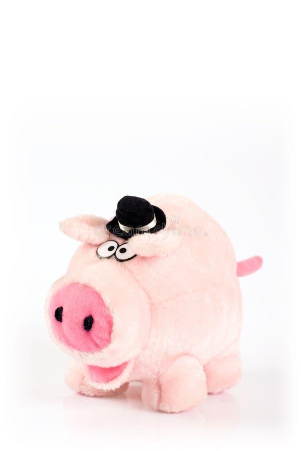 Schweinspielzeug stockfoto