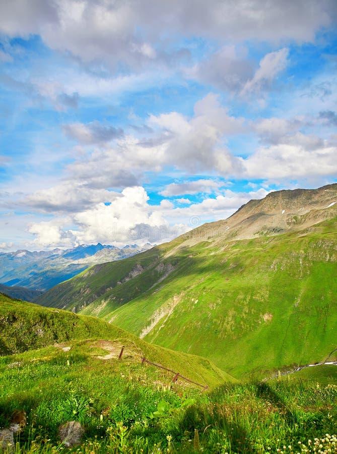 Schweizer Alpen-Landschaft lizenzfreies stockbild