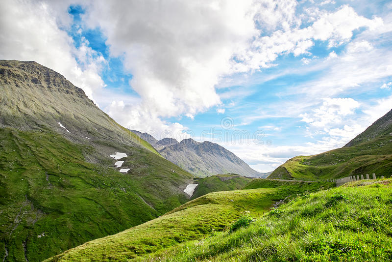 Schweizer Alpen-Landschaft stockfotos